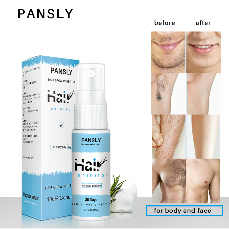 20ml Hair Growth Inhibitor Spray Permanent Body And Face Hair
